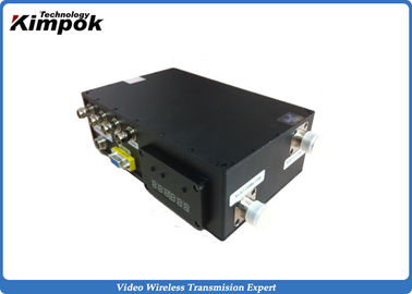 China Military Digital Video Transmitter COFDM Wireless Surveillance Sender with RS485 / RS232 factory