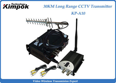 China 10~30KM Long Range Video Transmitter 1.2Ghz Wireless Image Sender 4 Channels factory