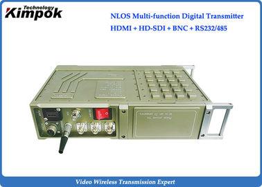 150~200km Wireless  Long Range Video Transmitter 20W HD Mobile Video Communication Encryption