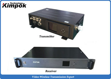 China 5W HD Wirreless Video Transmitter for CCTV Camera Mobile and NLOS transmission factory