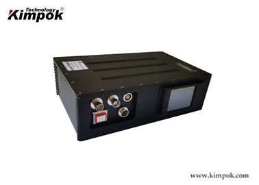 China Vehicle Mounted COFDM Video Transmitter with 20W Output Power Long Range Digital Transmitter factory